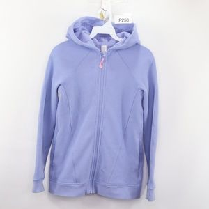 Ivivva Lululemon Girls Full Zip Hoodie Sweatshirt